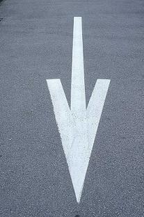white-arrow-pointing-down