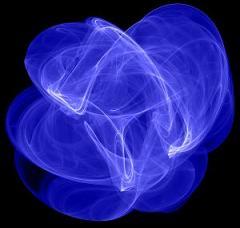 blue light traces