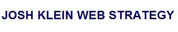 Josh Klein Web Strategy