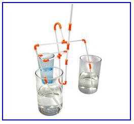 deep fun - drinking straw construction kit