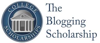 Blogging Scholarship Logo