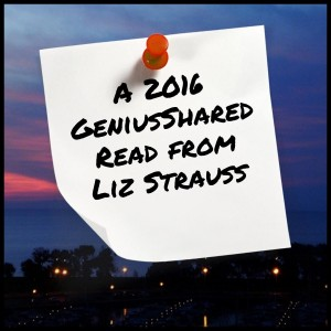 2016 GeniusShared Read from Liz Strauss