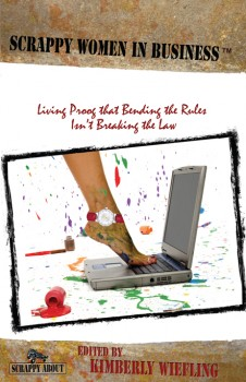 Scrappy Women in Business book, inspiration for women in business
