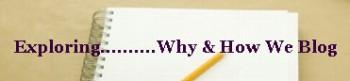 why-do-we-blog
