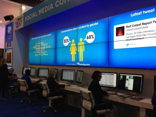Social listening command center