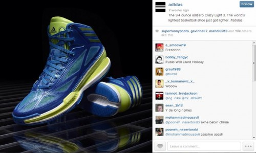 adidas basketball shoes instagram