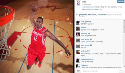 NBA Instagram Photo