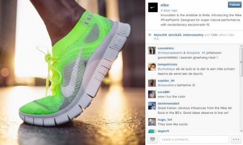 Nike Instagram photo