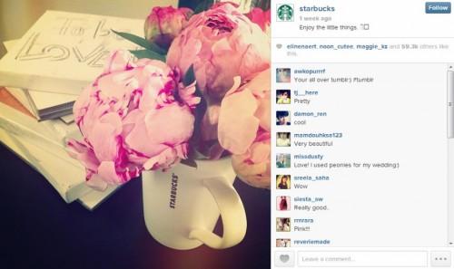 Starbucks Instagram Photo