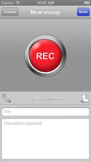 vSnap video app