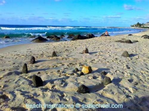 Beach Notes: Magic spiral