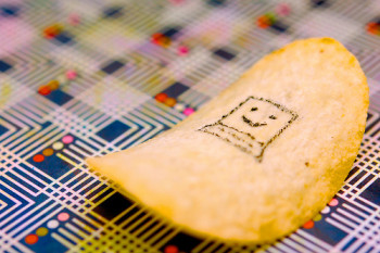 technology to print on potato chip
