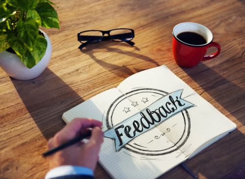 feedback notebook