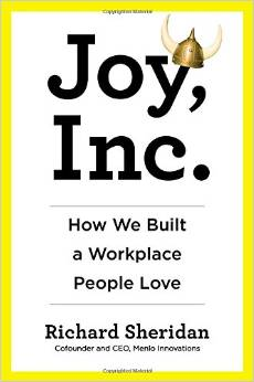 book cover Joy, Inc. by Richard Sheridan