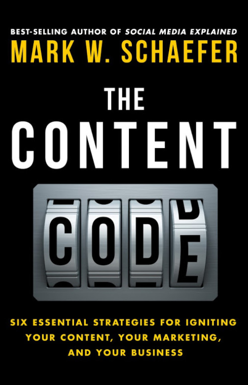 Content Code book, by Mark W. Schaefer