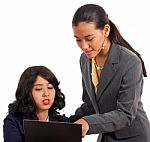 secretary-and-boss-discussing-10054901