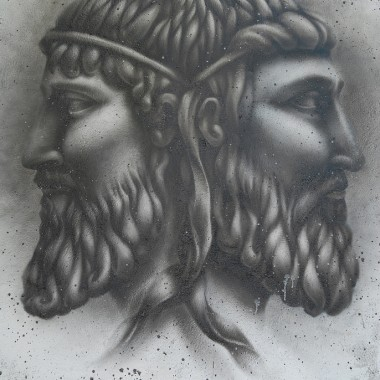 Janus the two-faced god
