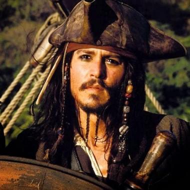 Johnny Depp as Jack Sparrow