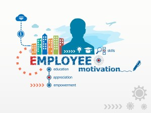 Employee Motivation Concept And Business Man.