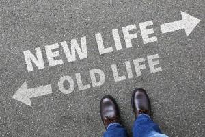 Old New Life Future Past Goals Success Decision Change