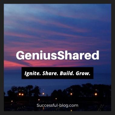 Hello Successful-Blog, GeniusShared & SOBCon friends