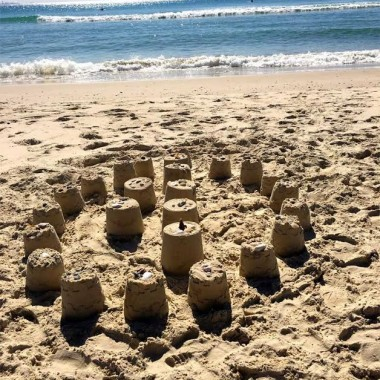 Beach Notes: Castles and Creativity