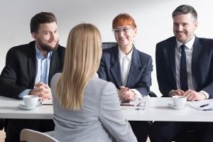 Employers Happy Of New Pretty Applicant
