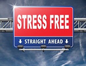 Stress free zone totally relaxed without any work pressure succe