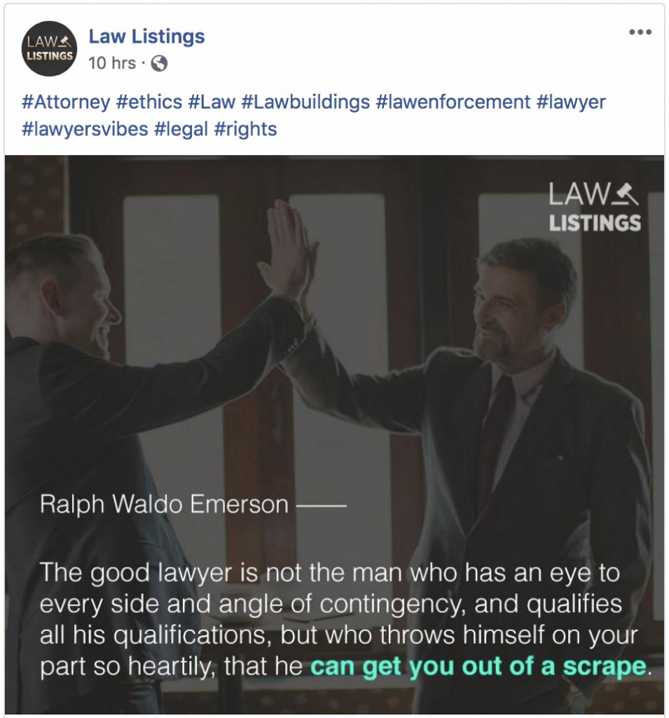 LawListings Facebook